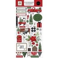 """Εικόνα του Carta Bella Chipboard Accents 6""""x13"""" -  Home for Christmas, Accents"""