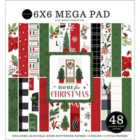 """Εικόνα του Carta Bella Mega Μπλοκ Scrapbooking Διπλής Όψεως 6""""X6"""" - Home for Christmas"""