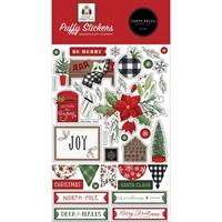 Εικόνα του Carta Bella Puffy Αυτοκόλλητα - Home for Christmas