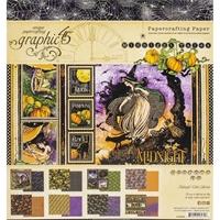 """Εικόνα του Graphic 45 Double-Sided Paper Pad 8""""X8"""" – Midnight Tales"""