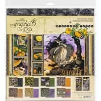 """Εικόνα του Graphic 45 Collection Pack 12""""x12"""" – Midnight Tales"""