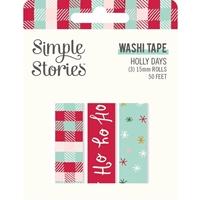 Εικόνα του Simple Stories Washi Tape – Holly Days