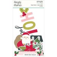 Εικόνα του Simple Stories Simple Pages Page Pieces – Holly Days, Holly Jolly