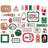 Εικόνα του Carta Bella Cardstock Ephemera – Christmas Cheer, Icons