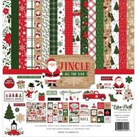 Εικόνα του Echo Park Double-Sided Collection Kit 12''x12'' – Jingle All The Way