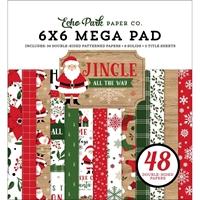 """Εικόνα του Echo Park Mega Μπλοκ Scrapbooking Διπλής Όψεως 6""""X6"""" -Jingle All The Way"""