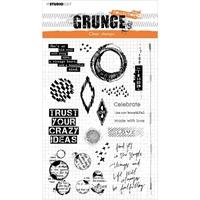 Εικόνα του Studio Light Grunge 5.0 Collection Clear Stamp - NR. 43, Elements