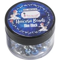 Εικόνα του Dress My Craft Unicorn Beads – Blue Black
