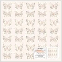 """Εικόνα του Jen Hadfield Specialty Paper 12""""X12"""" -  Peaceful Heart"""