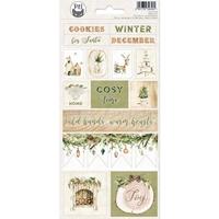 """Εικόνα του P13 Cardstock Stickers 4""""X9"""" – Cosy Winter, #02"""