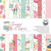 """Εικόνα του P13 Μπλοκ Scrapbooking Διπλής Όψεως 6""""X6"""" – Sugar & Spice"""