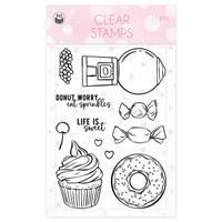 Εικόνα του P13 Photopolymer Clear Stamps – Sugar & Spice