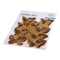 Εικόνα του Pinkfresh Studio Hot Foil Plate - Small Butterflies