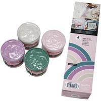 Εικόνα του Speedball Fabric Screen Printing Ink Set - Polished Pastel