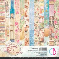 """Εικόνα του Ciao Bella Διπλής Όψεως  Paper Pad 6""""X6"""" – The Little Prince"""