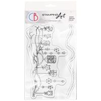 """Εικόνα του Ciao Bella Stamp Set 4""""X6"""" -  Let's Decorate"""