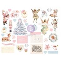 Εικόνα του Prima Marketing Chipboard Stickers by Frank Garcia – Christmas Sparkle