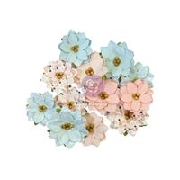Εικόνα του Prima Marketing Χάρτινα Λουλούδια Mulberry by Frank Garcia – Peppermint Sweet