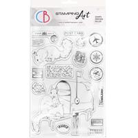 """Εικόνα του Ciao Bella Stamping Art Clear Stamps 6""""X8"""" – Mail Box"""