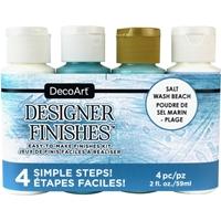 Εικόνα του DecoArt Designer Finishes Paint Pack - Salt Wash Beach