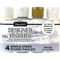 Εικόνα του DecoArt Designer Finishes Paint Pack - Salt Wash Farmhouse