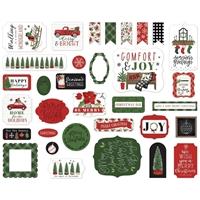 Εικόνα του Carta Bella Ephemera – Home for Christmas, Icons