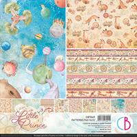 """Εικόνα του Ciao Bella Double-Sided Patterns Pad 12""""X12"""" - The Little Prince"""