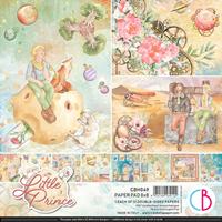 """Εικόνα του Ciao Bella Paper Pad Διπλής Όψεως 8""""X8"""" - The Little Prince"""
